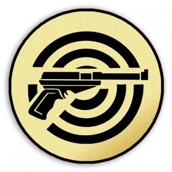 Poháry.com Štítek tištěný Střelba pistole