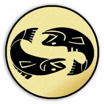 Poháry.com Štítek tištěný Ryby
