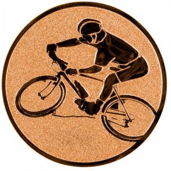 Poháry.com Emblém horská kola bronz 50 mm