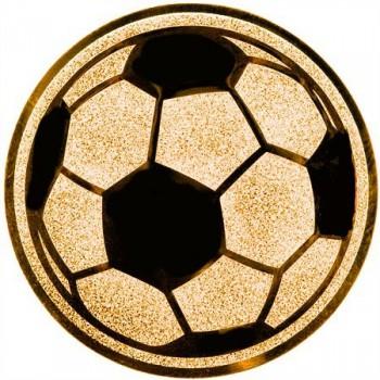 Poháry.com Emblém fotbal míč bronz 25 mm