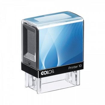 Razítko Colop Printer 10 modré se štočkem