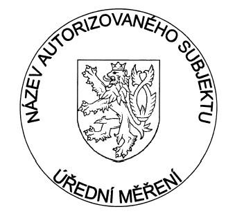 Výroba razítek Razítkový štoček pr.40 mm
