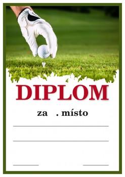 Diplom golf D13