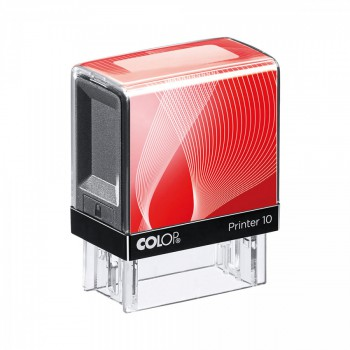 Razítko Colop printer 10 červené se štočkem