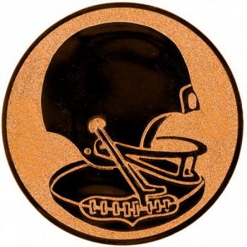 Poháry.com Emblém americký fotbal bronz 50 mm