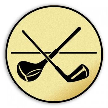 Poháry.com Emblém tištěný Golfové hole 30 mm