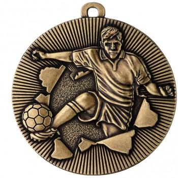 Poháry.com Medaile MD51 fotbal zlato