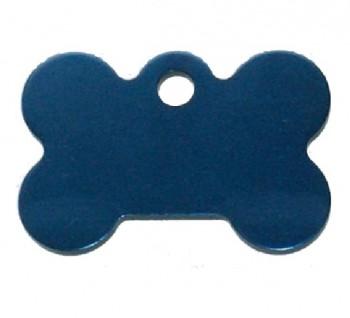 Psí známka PZ20 - modrá