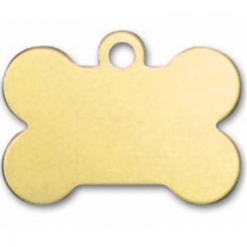 Psí známka PZ22 - zlatá