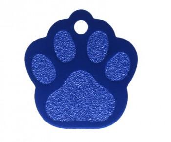 Psí známka PZ23 - modrá
