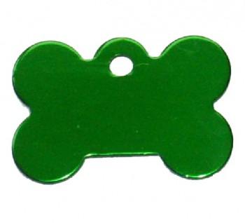 Psí známka PZ30 - zelená