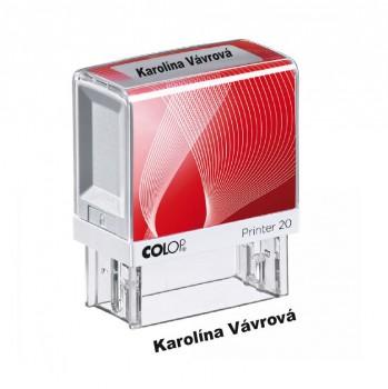 Výroba razítek Razítko pro prvňáka Colop Printer 20 červené