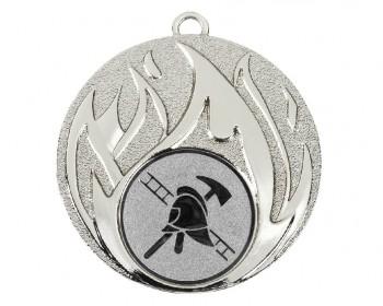 Poháry.com Medaile MD49 hasič stříbro