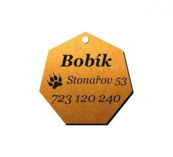 Psí známka PZ02 bronz