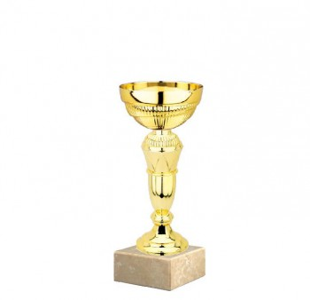 Poháry.com Sportovní pohár E033.4 GOLD bez víka