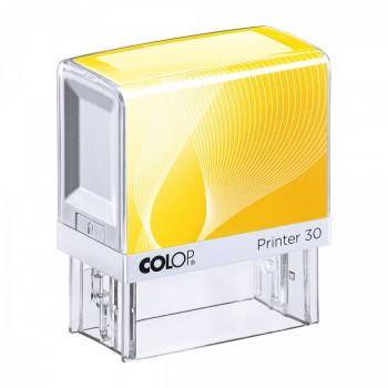 Razítko Colop Printer 30 žluté se štočkem