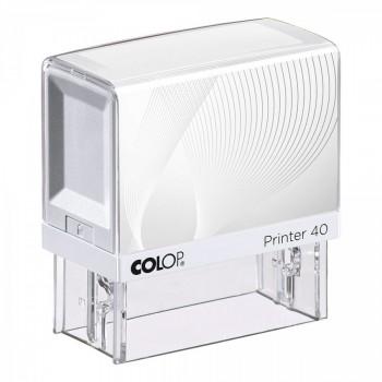 Razítko Colop Printer 40 bílé