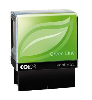 COLOP Razítko Printer 20 Green Line se štočkem