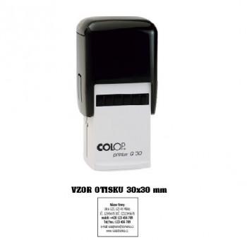 Colop Printer Q 30/černá se štočkem