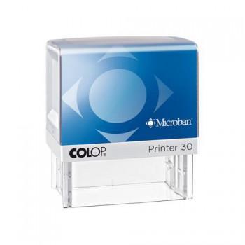 Razítko Colop Printer 30 MICROBAN se štočkem - černý polštářek