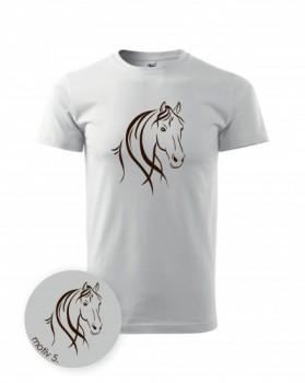 Adler Tričko s koněm 005