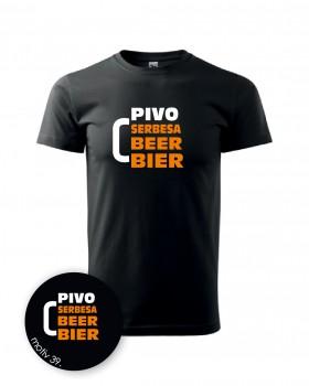 Adler Tričko pro pivaře 039 černé XL_DÁMSKÉ