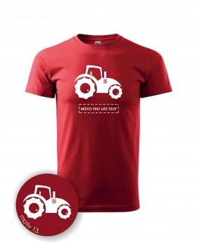 Adler Tričko s traktorem 013