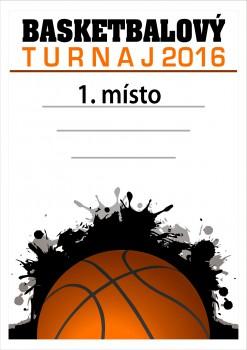 Poháry.com Diplom basketbal D47