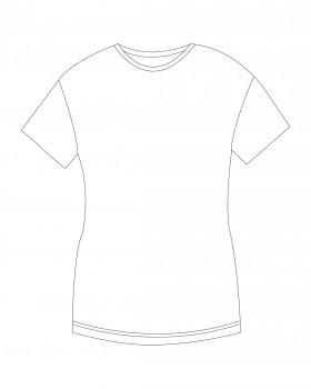 Adler Velikosti dámského trička XL