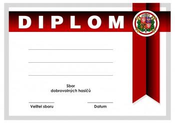 Pohary.com Diplom hasiči D56