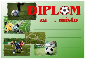 Poháry.com Diplom fotbal D12