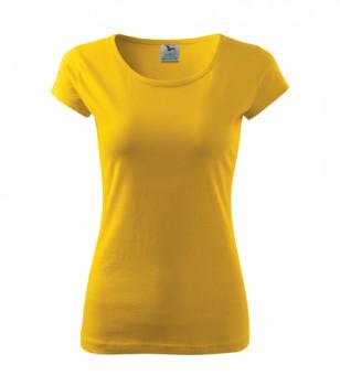 Dámské tričko ADLER PURE žluté S