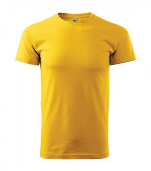 Pánské tričko ADLER HEAVY žlutá XXXL