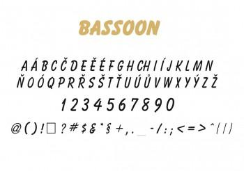Font písma Basson