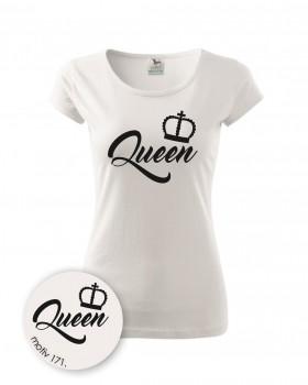 Adler Tričko dámské Queen 171 bílé