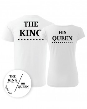 Adler Trička pro páry King and Queen 201