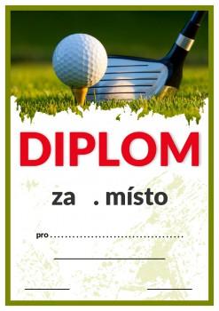 Diplom golf D83