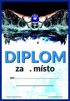 Diplom plavání D85