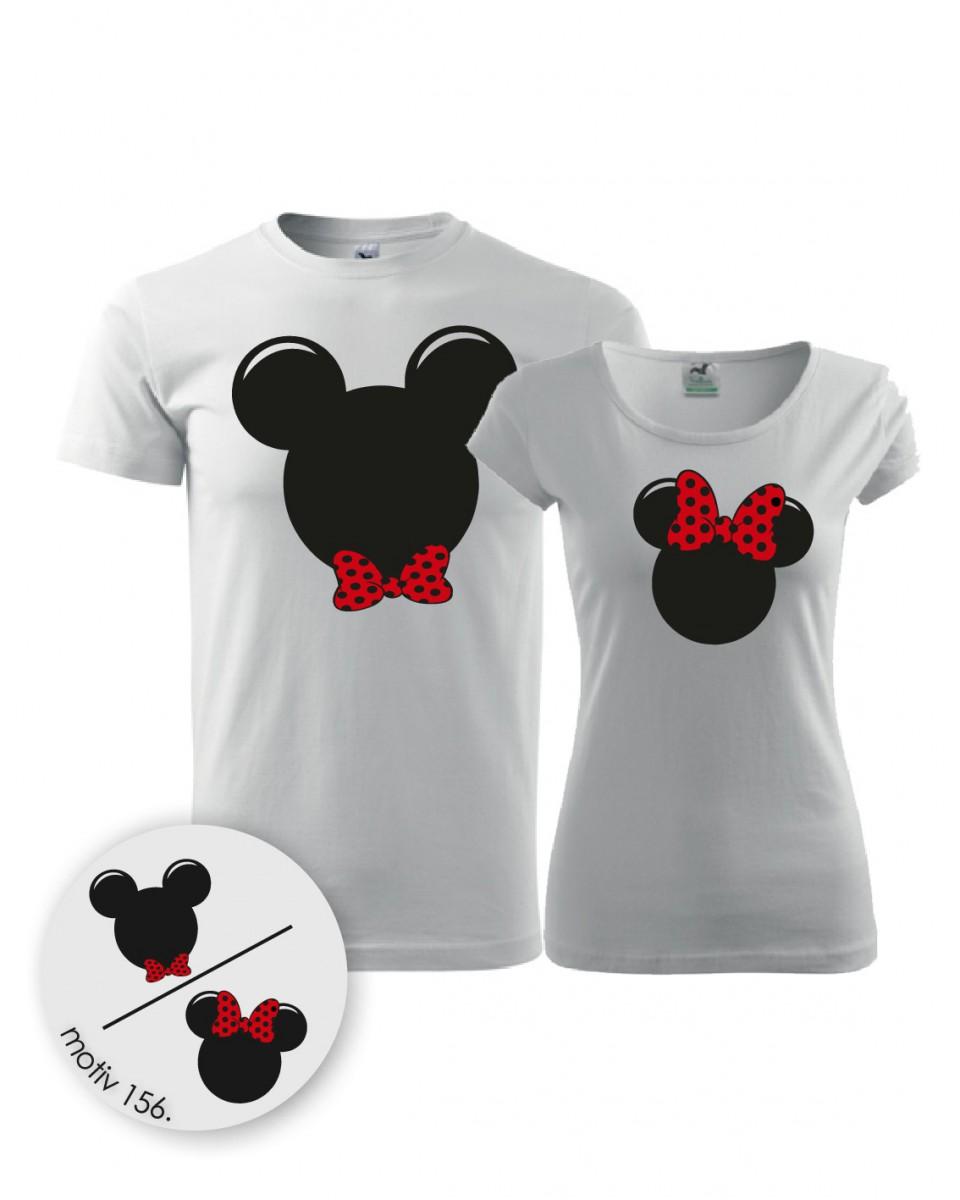 07357402c65 Trička pro páry Mickey Mouse 156 bílé